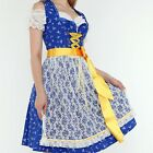 055.. Dirndl Oktoberfest German Austrian Dress - Sizes: 6.8.10.12.14.16.18.20.22