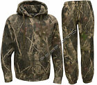 Mens Jungle Fishing/Hunting Camouflage Camo Suit - Zip Hoody + Trousers M - 5XL