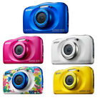 Nikon Coolpix W100 Outdoor Kinder Kamera 13,2 MP Full-HD Videos wasserdicht