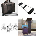 Easy Add A Bag Strap Travel Luggage Suitcase Adjustable Belt Carry On Bungee UK
