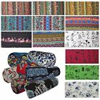Ah5 Cotton Bolster Cover*Neck Roll Yoga Tube Cushion Pillow Case*Custom Size