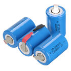 10-15pcs NiCd 1.2V Rechargeable Battery 4/5 Sub C Blue 2200mAh With Tab US Stock