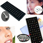 Wholesale Women Crystal Stainless Steel Nose Ring Bone Stud Body Pierced Jewelry image