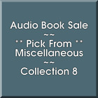 Audio Book Sale: Miscellaneous (8) - Pick what you want to save $6.48 CAD on eBay