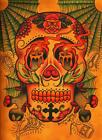 Day of the Dead Skull by Brother Greg Canvas or Paper Rolled Art Print