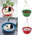 Parrot Bird Nest Basket Swing Squirrel Hamster Hanging Bed for Cute Small Animal