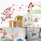 Flower Removable Wall Stickers Vinyl Decal Room Home Mural Art Decal Decoration