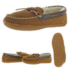 Polo Ralph Lauren Mens Mason Suede Shearling Lined Crepe Sole Moccasin Slippers