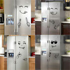 Cute Sticker Fridge Happy Delicious Face Kitchen Fridge Wall Stickers Home Decor