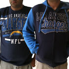 Men's Los Angeles Chargers Full Zip Hoodie  & FREE T-SHIRT $48.88 USD on eBay