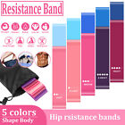 5/10X Resistance Bands Loop Yoga Fitness Exercise Booty Gym Workout Strength Set