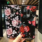 Used, For Samsung Galaxy Note 9 S9 Plus S8 3D Relief Flower Soft TPU Phone Case Cover for sale  Shipping to Canada