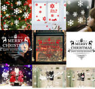 Merry Christmas Wall Stickers Vinyl Decal Window Xmas Remova