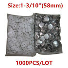 1000pcs 58mm Blank Pin ABS Badge Button Supplies for DIY Badge Maker Machine New