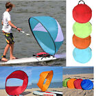 "42"" Kayak Boat Wind Sail Sup Sailboat Paddle Board Sailing Windpaddle Canoe Kit"