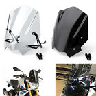 New Motorcycle ABS Plastic Windshield Windscreen Fit BMW G310R 2017-2018 UE image