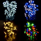 200 LED Battery Operated 19.9m Fairy String Lights Indoor Outdoor Christmas Tree