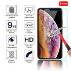 2-Pack For iPhone XS / XR / XS Max 9H Clear Tempered Glass Screen Protector Film