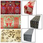 Table/Bed Runner*Chinese Rayon Brocade Dinning Coffee Cloth Header Cover*BL17