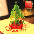 US!3D Pop Up Paper Card Christmas Tree Xmas Greeting Holiday Birthday Gifts