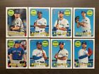 2018 Topps Heritage High Number Base Team Sets ~ Pick your Team