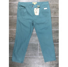 capri cropped pants women s size dusty