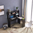 Mcombo L Shaped Desk Corner Desk Home Office Workstation Dark Brown
