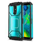 Phone Case for LG STYLO 4, [Alloy Series] Aluminum Metal Plate Magnetic Cover