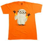 Minion Ghost T-shirt S-M-L Despicable Me COSTUME HALLOWEEN ORANGE FREE SHIP New!