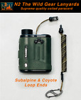 Hunting Lanyard Subalpine & Coyote  Rangefinder GPS Archery Coiled Paracord 550