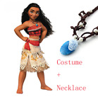 Deluxe Girls Princess Moana Costume for Kids for Halloween -