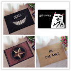 Cat With Middle Finger mat doormat Go Away Grumpy Cat Carpet Entrance Indoor