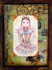 The Timekeepers Daughter by Heather Younger Steampunk Canvas Giclee Art Print