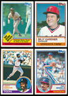 1983 Topps - You Pick Complete Your Set #601-792 (A09)