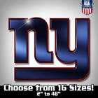 New York Giants NFL Football Color Logo Sports Decal Sticker - Pro Version