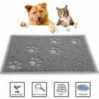 Pet Feeding Mat Paw Shape Small Dog Puppy Cat Kitten Food Bowl Dishes Place mat
