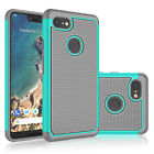 For Google Pixel 3a XL 2 XL Shockproof Case Hybrid Rubber Hard Protective Cover
