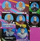 Star Trek Next Gener Playmates Borg Romulan Ferengi Q Sela Vorgon Dathon Lore on eBay