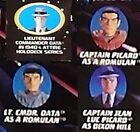 Picard Data as Romulan Duty Holodeck 1940's Laf Tarchanne Star Trek Next Gene au on eBay