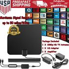 TV Antenna HD Digital Indoor Television HDTV Electronic Over Air 100 Miles Range
