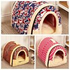 Small & Large Pet House, Soothed Comfortable Cat Dog Igloo Treat Lair Hot