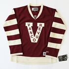 VANCOUVER CANUCKS WOMENS REEBOK PREMIER HERITAGE CLASSIC NHL HOCKEY JERSEY $29.0 USD on eBay