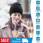 Wireless Music Warm Beanie Hat Smart Cap Headset Headphone Speaker Mic