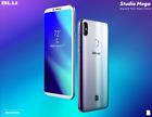 Blu Studio Mega 2018 *Blue color* Unlocked Cell Phone Android V.8.1 Oreo 6.0''