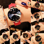 Women Starry Sky masonry Watch Waterproof Magnet Strap Buckle Luxury Watch image