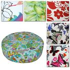 "2""Thick-Round Box Shape Cover*Lily Cotton Canvas Chair Seat Cushion Case*AF3"
