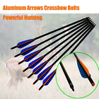 Aluminum Arrows Crossbow Bolts Archery Outdoor Powerful Hunting 16/18/20/22 inch