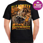 Harley Davidson Halloween T-Shirt Biketoberfest Daytona Beach Biker Full Size $18.99 USD on eBay