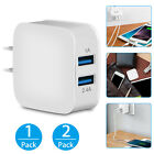 Dual 2-Port USB Fast Wall Charger Portable Adapter for phone iPhone Samsung LG