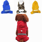 USA XS-XXL Waterproof Pet Dog Cat Rain Coat Clothes Doggy Puppy Hoodie Jacket